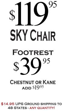 $119.95 ORIGINAL SKY Chair